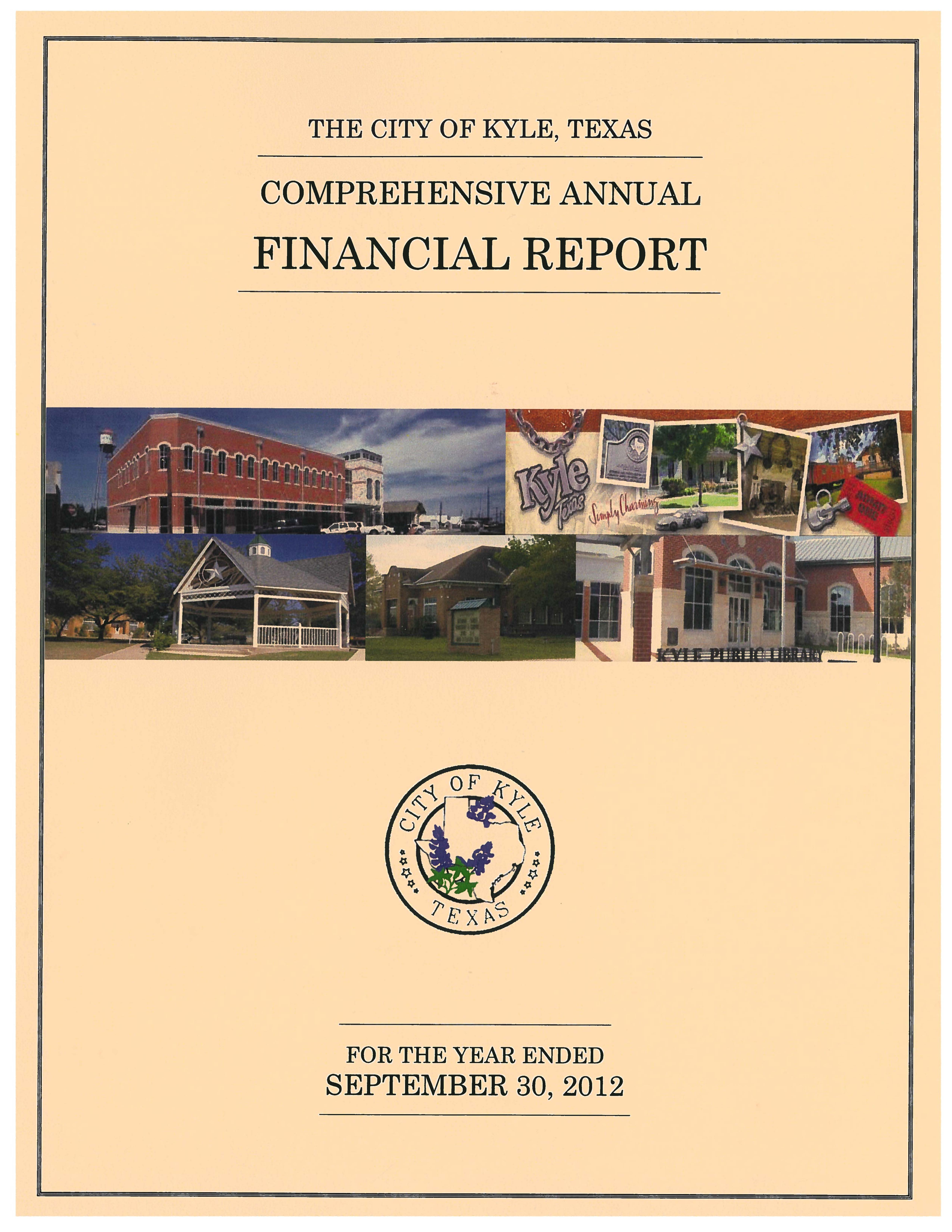 michigan's comprehensive annual financial report The comprehensive annual financial report of the city of portage, michigan for the fiscal year ended june 30, 2013 has been completed responsibility for both the accuracy of the data and the completeness and fairness of the presentation, including all disclosures, rests with the city's management.
