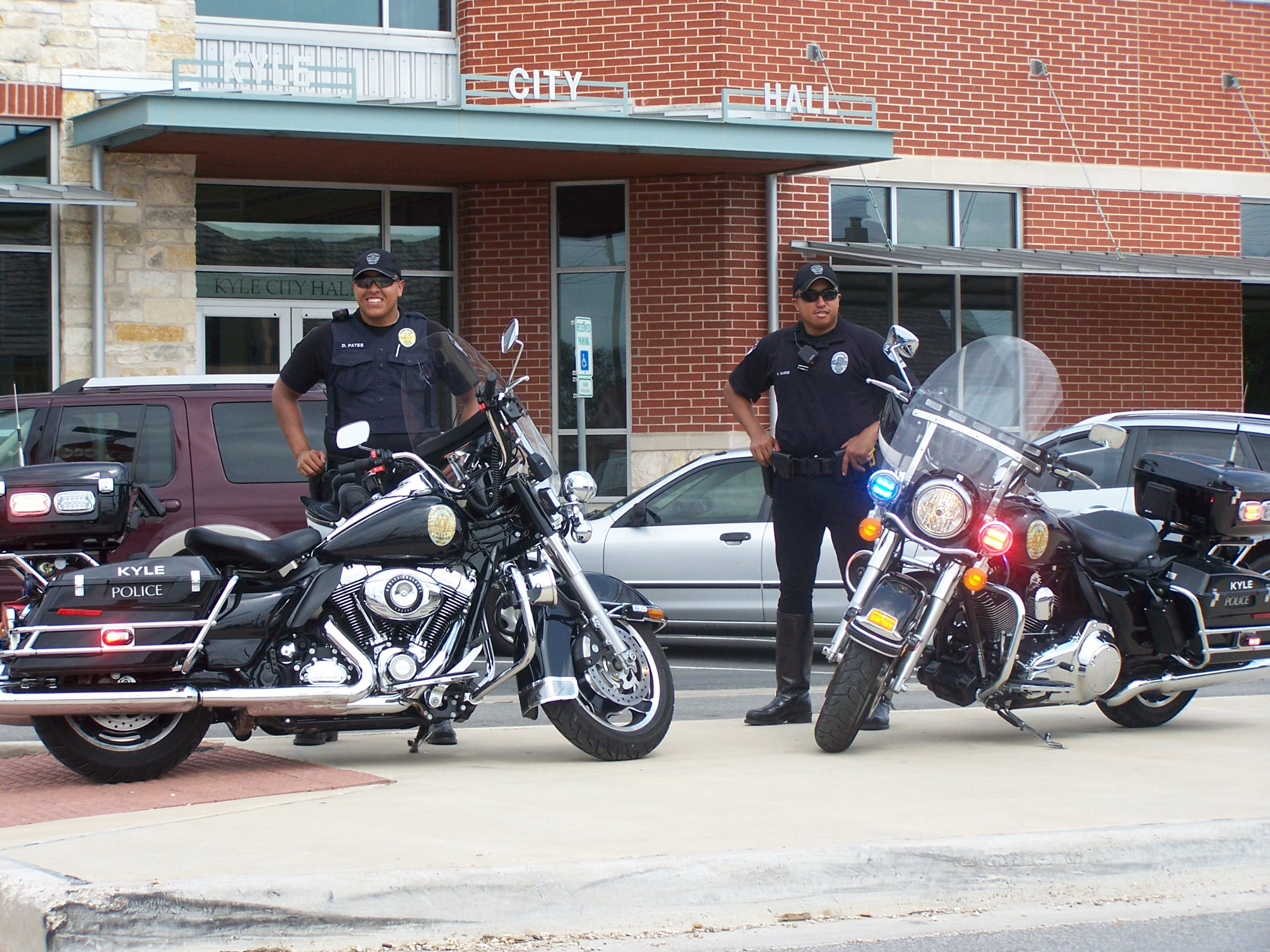Kyle Police Department Adds Motor Cycle Units City Of