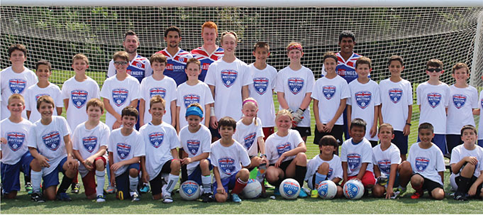 3133dc485 Challenger British Soccer Camp. Your Kyle Parks and Recreation Department  is pleased to announce a year of partnership with Challenger Sports ...