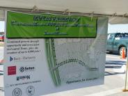 Kyle Parkway Extension Ribbon Cutting