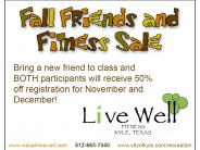 LiveWell Fall Fitness Special