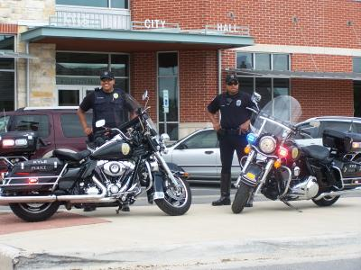 Kyle PD Motorcycle Units