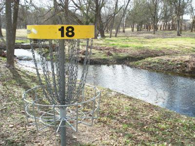 Steeplechase Disc Golf Course